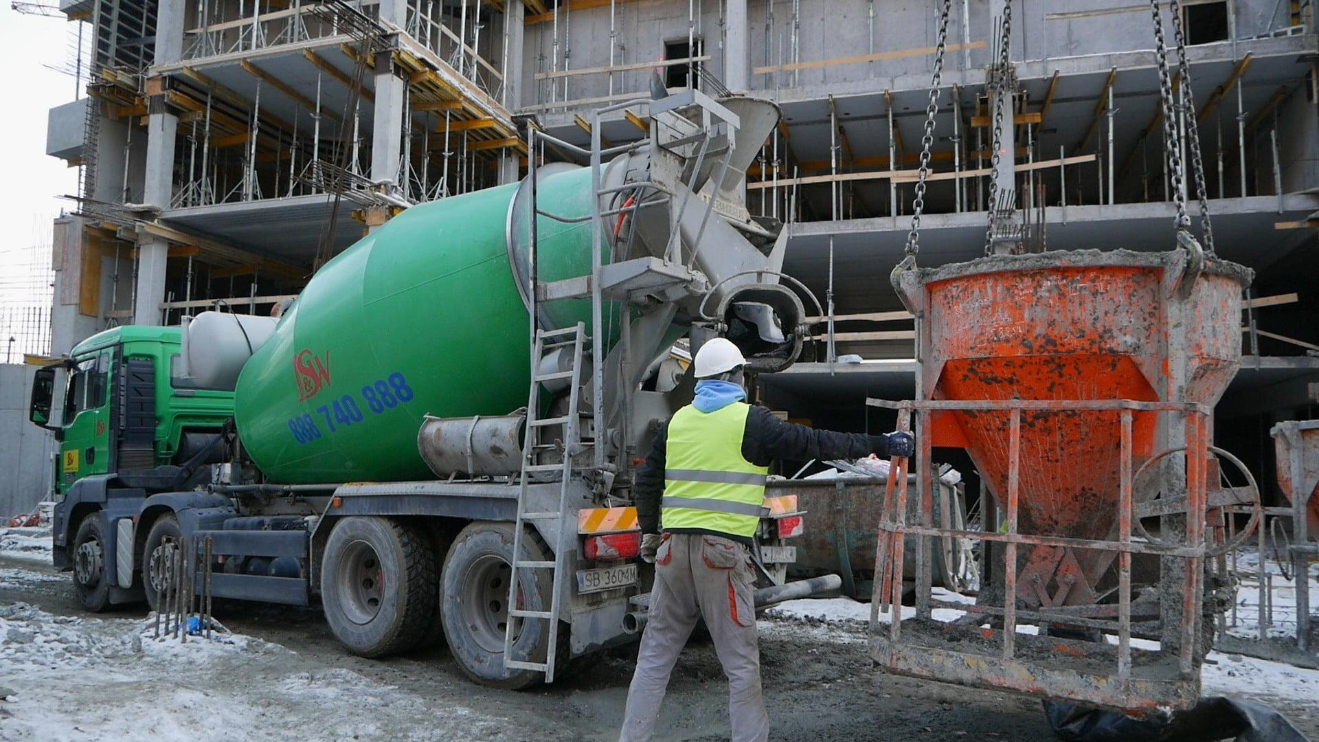 Beton towarowy - mieszarka betonu