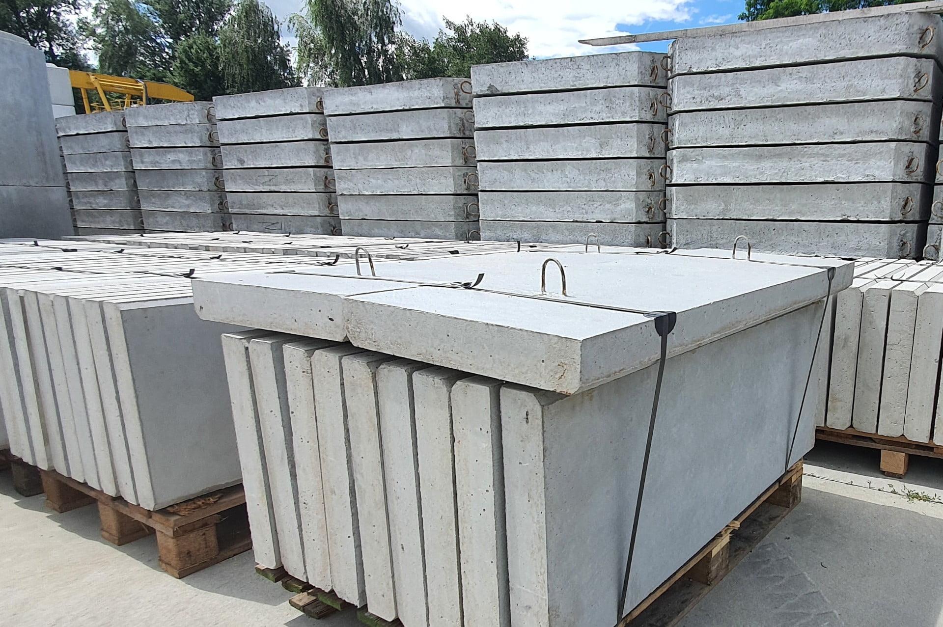 Krawężniki betonowe